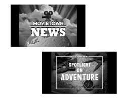 movie town graphics for production u2014 susan bradley design
