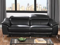 canapé cuir noir 3 places canapé 3 places relax électrique daloa en cuir noir canapé vente