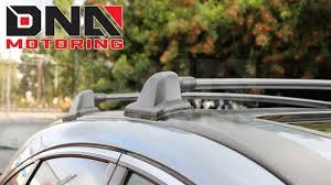 honda crv roof rack installation dna motoring 07 11 honda crv cargo roof rack installation