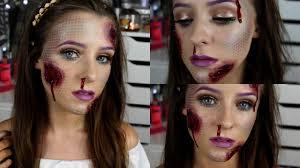 open wound mermaid makeup halloween tutorial youtube
