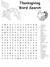 thanksgiving coloring pages thanksgiving word search