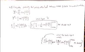 quantum mechanics wavefunction problem wrong in solutions manual