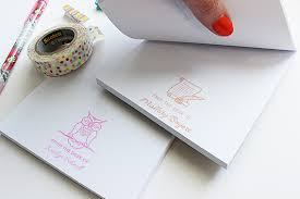 From The Desk Of Notepad Customized Diy Notepads Rubberstamps Com Blog