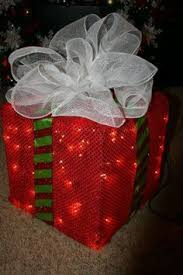 lighted christmas present boxes creative ways to decorate your front porch front porches