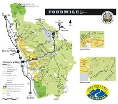 Riverside State Park Trail Map by Four Mile Recreation Area Riverside Inn Hotel Fairplay Colorado