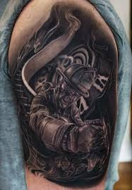 tattoos s firefighter smoke tatuajes