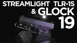 streamlight tlr 4 tac light with laser streamlight tlr 1s on a glock 19 gen 4 youtube