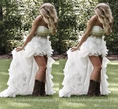 2016 sale hi lo country style wedding dresses sweetheart