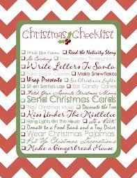 the 25 best christmas checklist ideas on pinterest holiday