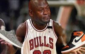 Sneaker Meme - 20 times michael jordan cried over sneakers this year sole collector