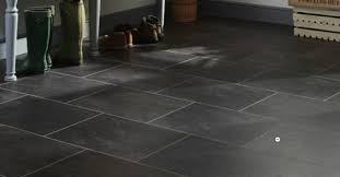 stylish vinyl flooring slate tile effect karndean flooring
