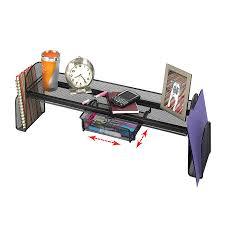 safco onyx mesh desk organizer onyx mesh off surface shelf safco products