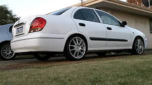 nissan bluebird 2005 n16 pulsar exhaust youtube