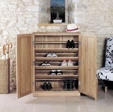 Hall Storage Cabinet Mobel Solid Oak Furniture Large Shoe Cupboard Hall Storage Cor20d