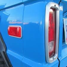 early bronco tail light wiring billet aluminum side marker lens trim bezels 70 77 ford bronco
