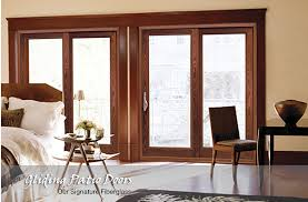 Glass Patio Door Sliding Glass Patio Doors Exovations