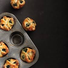 spinach puffs recipe epicurious com