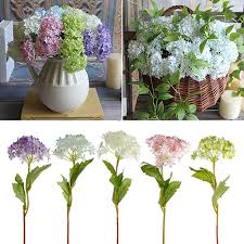 faux hydrangea flowers promotion shop for promotional faux