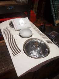 Bathroom Light Fan Heater Combo by Heller Bathroom Lighting Heller Bathroom Lighting Heller 4 X 275w