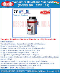 anaesthetic medical vaporizer manufacturers exporters u0026 suppliers
