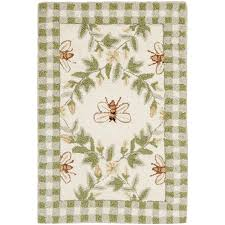 Checkered Area Rug by Amazon Com Safavieh Chelsea Collection Hk55a Hand Hooked Ivory