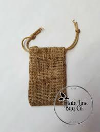 burlap drawstring bags 3 25 x 5 burlap bags state line bag company