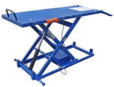 Motorcycle Lift Table by Hydraulic Motorcycle Lift Ebay