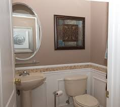 Bathroom Sinks With Pedestals Traditional Powder Room With Wainscoting U0026 Powder Room In Lake