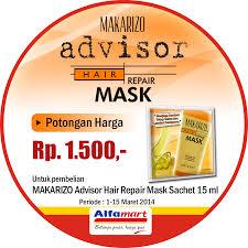 Masker Di Alfamart dapatkan potongan harga advisor hair repair mask sachet di alfamart