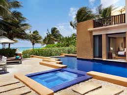 Antike Schlafzimmerm El Hotel In Cancun Banyan Tree Mayakoba
