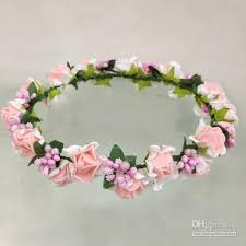 flower girl accessories new pieces fashion children s hair headdress flower