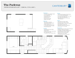 park model options canterbury park model rvs