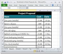 List Of Spreadsheet Software Creating A Project Material List