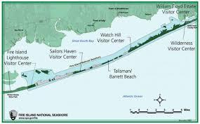 Island Beach State Park Map by Fire Island Maps Npmaps Com Just Free Maps Period
