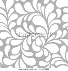 seamless pattern floral modern ornament vector stock vector