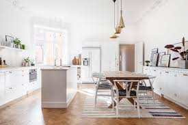 kitchen island instead of table is this the next big kitchen trend mydomaine