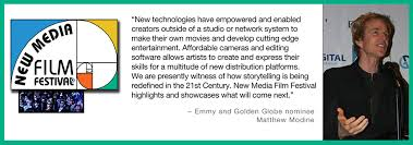 welcome to the new media film festival