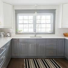 Small Kitchen Remodel Featuring Slate Tile Backsplash by Best 25 Two Toned Kitchen Ideas On Pinterest Two Tone Kitchen
