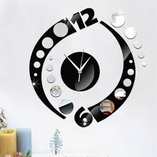Decorative Wall Clocks For Living Room Online Get Cheap Color Wall Clock Aliexpress Com Alibaba Group
