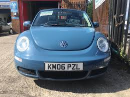 used volkswagen beetle luna 2006 cars for sale motors co uk