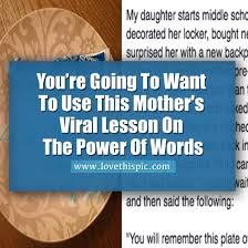 you u0027re going to want you u0027re going to want to use this mother u0027s viral lesson on the