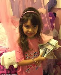 Tooth Fairy Gift Farrah Abraham Gifts Her Daughter Sofia With 900 From The Tooth