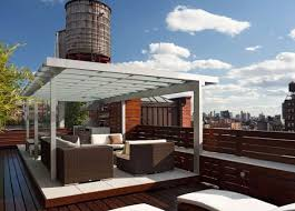 roof cool unusual roofdecks awesome deck roof plans kips bay