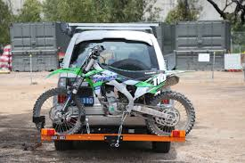 motocross bike rack rack n roll bike carrier australasian dirt bike magazine