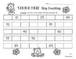 pattern practice games springtime skip counting skip counting by 5 number patterns practice