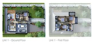3d floor plan rendering u2013 laferida com