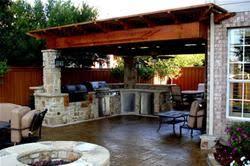backyard kitchen ideas outdoor kitchen idea gorgeous best 25 outdoor kitchens ideas on
