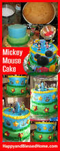 how to decorate a cake at home mickey mouse cake happy and blessed home