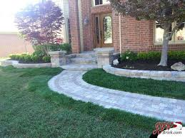 landscaping ideas with pavers simple front yard landscaping ideas