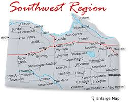 map of southwest travel and explore saskatchewan map of saskatchewan